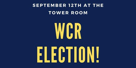 WCR Elections tickets