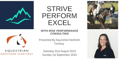 Strive, Perform, Excel with Equestrian NT special guest Jacqui Sandland