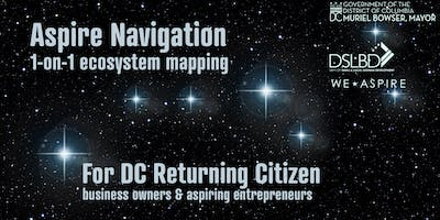 Aspire Navigation: 1-on-1 Resource Mapping for Returning Citizen Entrepreneurs