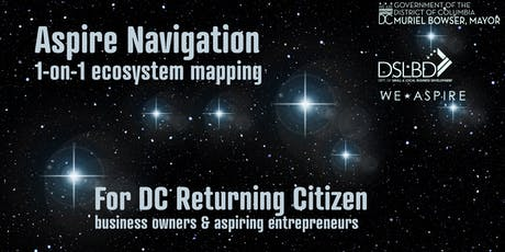 Aspire Navigation: 1-on-1 Resource Mapping for Returning Citizen Entrepreneurs tickets