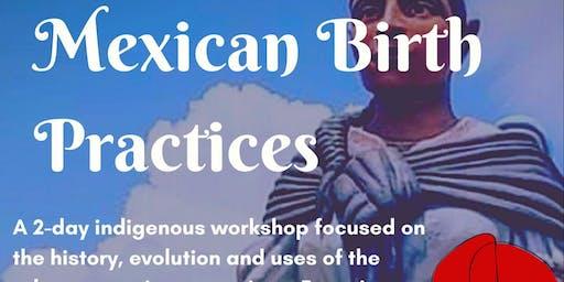 Rebozo Mexicano & Mexican Birth Practices: North Carolina