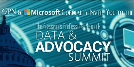 4th Annual Microsoft Data in Advocacy Summit tickets