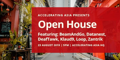 Accelerating Asia Open House 23 August tickets