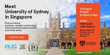 University of Sydney Business School Info Session - with Prof John Shields tickets