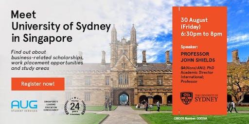University of Sydney Business School Info Session - with Prof John Shields
