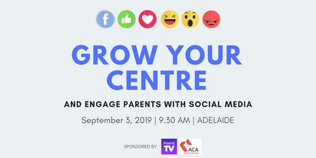 Grow Your Centre and Engage Parents with Social Media tickets