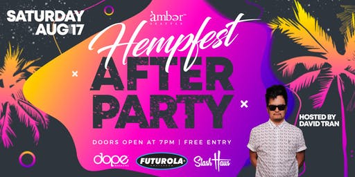 Seattle Hempfest 2019 Afterparty