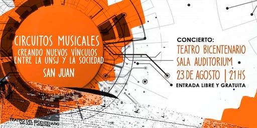 Vie 23 de Agosto 2019, 21hs | CM en Teatro Bicentenario - Sala Auditorium