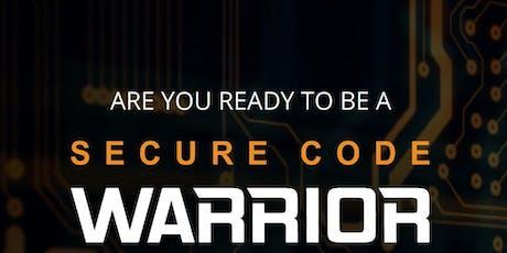 Secure Code Warrior Tournament tickets