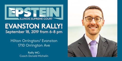 Epstein for Illinois Supreme Court Evanston Kickoff