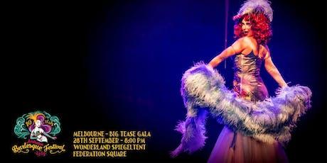 The Australian Burlesque Festival 2019 – Big Tease Gala Melbourne! tickets