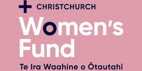 Christchurch Foundation Women's Fund High Tea tickets
