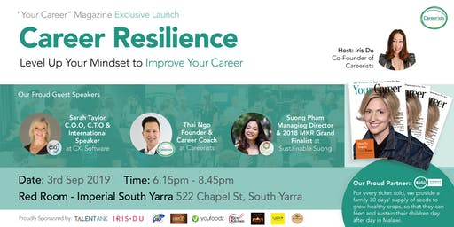 CAREER RESILIENCE - Level Up Your Mindset to Improve Your Career