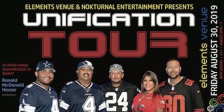 Unification Tour tickets