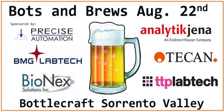 Summer Bots and Brews: A Lab Automation Networking Event tickets