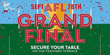 2019 AFL Grand Final in the Terrace tickets