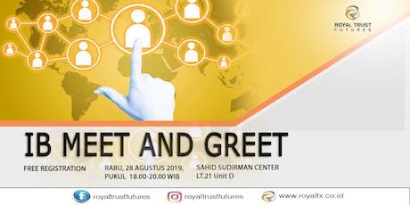 IB Meet and Greet tickets
