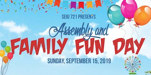 SEIU Local 721 Assembly & Family Fun Day