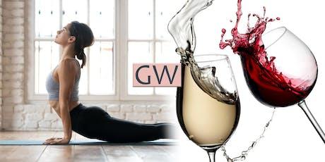 Yoga & Wine tickets