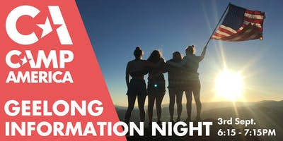Geelong - Camp America 2020 Info Session