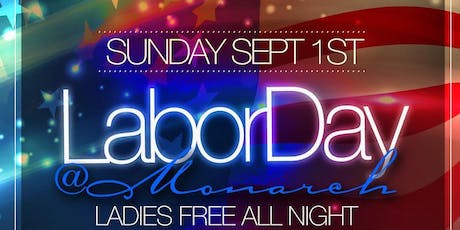 Labor Day Weekend Rooftop Party @ Monarch Rooftop tickets