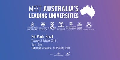Meet Australia's Leading Universities in São Paulo