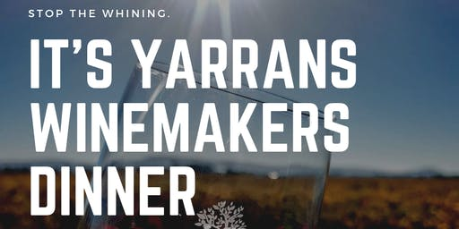 Yarran Wines Winemaker's Dinner
