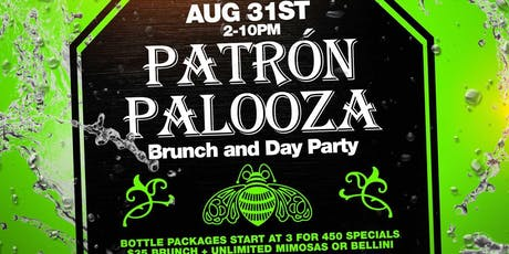 "Al Camara Entertainment presents ""Patron  Palooza"" tickets"