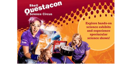Shell Questacon Science Circus at the Library 5:00pm-5:30pm