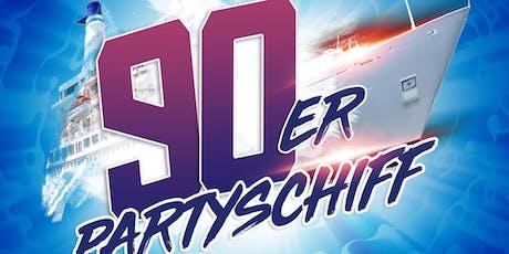 90er Partyschiff  - Düsseldorf Tickets