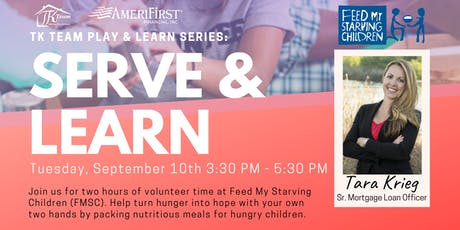 Serve & Learn: Volunteer Day at Feed My Starving Children tickets
