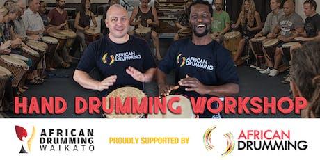 Rotorua African Hand Drumming Workshop with Yaw Asumadu tickets