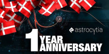 Astrocytia 1 year anniversary tickets