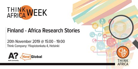 Finland-Africa Research Stories tickets