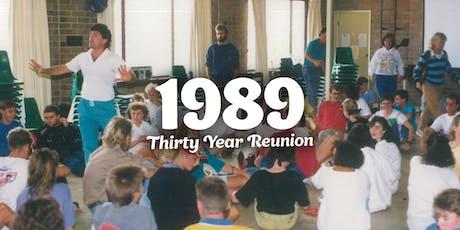 Cardijn College Class of 1989 Thirty Year Reunion tickets
