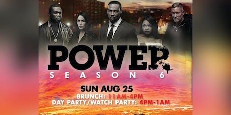 Power Season 6 Brunch / Watch Party tickets