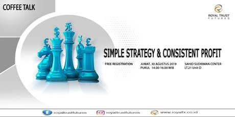 Simple Strategy & Consistent Profit tickets