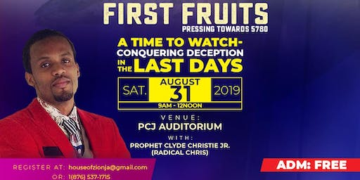 A Time to Watch - Conquering Deception in the Last days - Firstfruits Elul