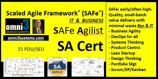 SA-SAFe-Agilist-Cert.v4.6,MKE, Leading SAFe class-15,PDU