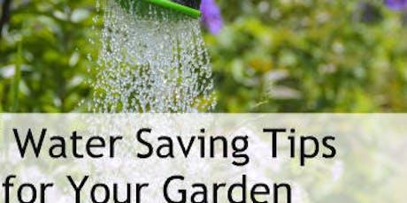 Waterwise garden tickets