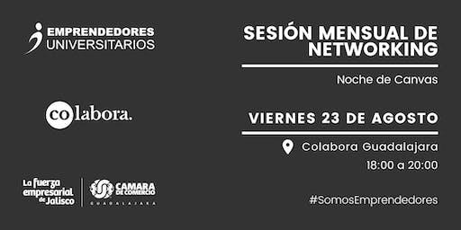 Sesión Mensual de Networking: Noche de Canvas