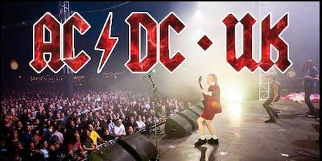 AC/DC UK @ SOUTH OF HEAVEN BILZEN tickets