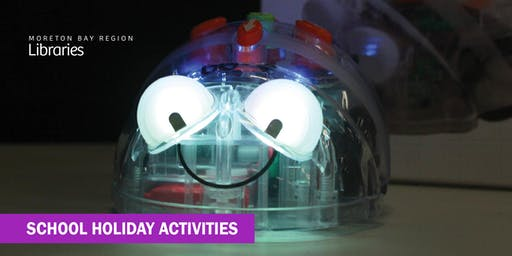 Robot Fun with Blue Bots (5-8 years) - Redcliffe Library
