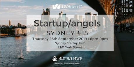 Startup&Angels Sydney #15 tickets