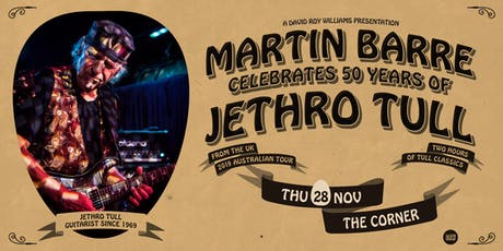 MARTIN BARRE (UK - Jethro Tull) tickets
