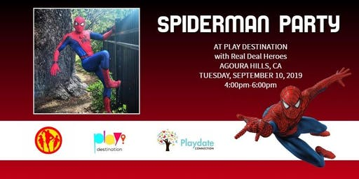 Spiderman Party At The Play Destination
