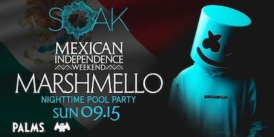 9.15 Marshmello SOAK Sunday Nightswim Party @ KAOS Nightclub Las Vegas