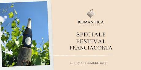 Festival Franciacorta 14 e 15 settembre 2019 biglietti