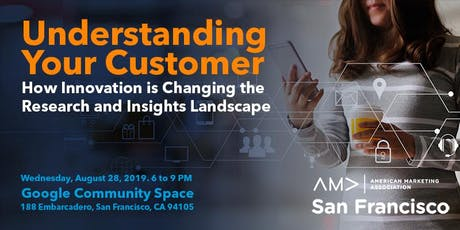 Understanding Your Customer – How Innovation is Changing the Research and Insights Landscape tickets