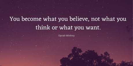 Supercharge your Self-Belief tickets